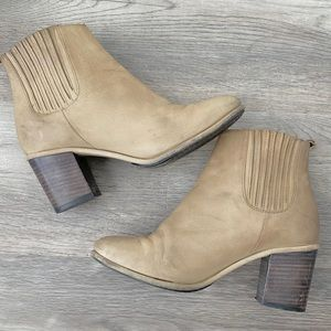 Opening Ceremony Brenda Ankle Boots Tan Booties 37